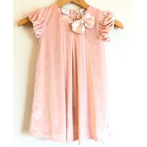 Velvet Light Pink 4t Koala Kids dress.